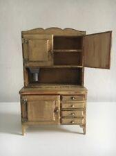 Dollhouse Miniature Artisan Kitchen Cabinet 1:12