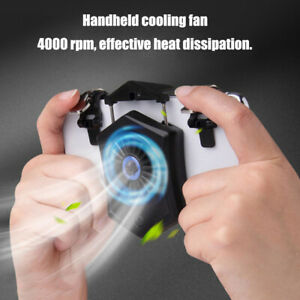 Universal Mobile Phone Cooler Cooling Fan Holder Stand Power Bank Gamepad