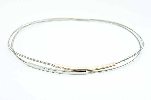 Skagen Damen Collier Halskette Edelstahl silber Modeschmuck Geschenk Accessoire