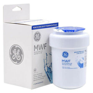 GE MWF Refrigerator Water Filter 1pc SmartWater Filter for Fridge Home Kitchen
