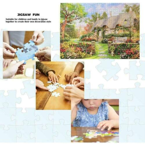 1000 piece England Cottage Jigsaw Puzzle Puzzles For Adults Learning S1R3