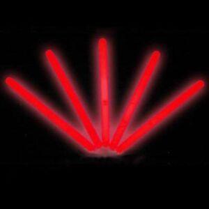 "25 6/"" Glowsticks Glow Light Sticks Party Favors RED"