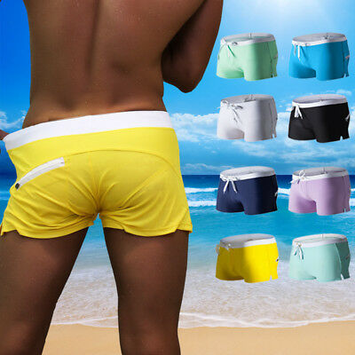 Mens Swimming Board Shorts Swim Shorts Trunks Swimwear Beach Summer Boys S ML XL