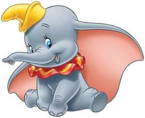DUMBO-THE-ELEPHANT-Disney-Decal-Removable-WALL-STICKER-Home-Decor-Art-Kids