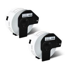 2 Roll White Address Labels Dk1208 For Brother Dk 1208 Ql 500 Ql 570vm With2 Frame