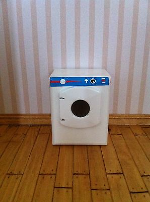 Streets Ahead 1/12th scale Dolls House Wooden Washing Machine New & Boxed DF981