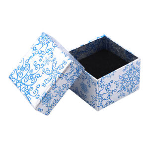 54234cb91 Image is loading Blue-White-Porcelain-Pattern-Jewelry-Gift-Box-Organizer-