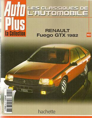 100% Kwaliteit Les Classiques De L'automobile 60 Renault Fuego Gtx 1982 Renault 15 R17 Het Verlichten Van Reuma