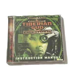 Command and Conquer Tiberian Sun Firestorm PC Win 95 Win 98 Video Game CD Rom PC