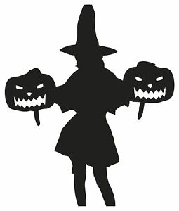Witches Halloween Cauldron Magic Spells Broom Vinyl Decal Stickers sma SM748