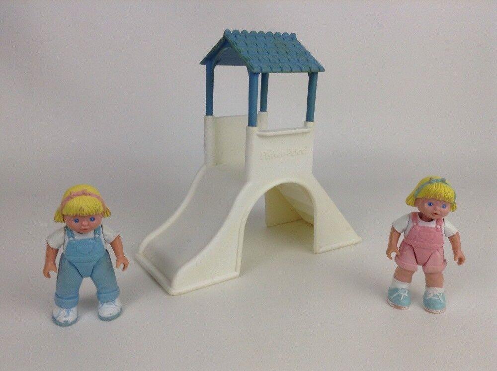 Fisher Price Loving Family Dream Dollhouse Toys Playground 2 2 2 Girls Vintage 93 94 7bf984