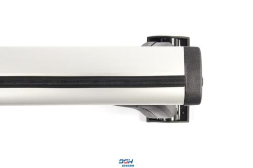 Dachträger Für Hyundai i30 Fließheck 5tür 07-12 mit Fixpunkten Alu Silbern 120cm