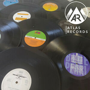 10-x-Upcycling-12-034-Inch-LP-Vinyl-Records-Job-Lot-Crafting