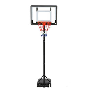 Portable-Basketball-Hoop-Backboard-System-Stand-Sports-Equipment-6-5Ft-8-2Ft