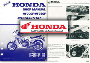 honda vf750f workshop service manual vf700f interceptor vf 750 700 rh ebay co uk honda vf750f owners manual 2007 Honda VFR Anniversary