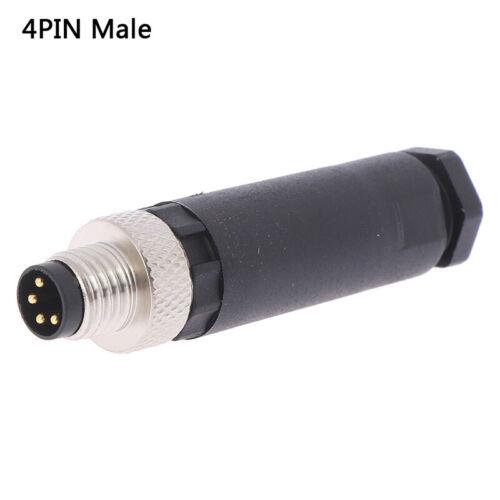 1Pc M8 Sensor Connector 3//4 Pin Male//Female Straight Angle P KHHH