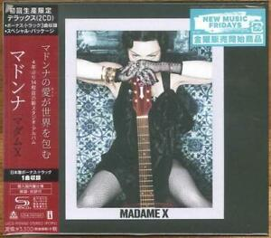 MADONNA-MADAME-X-w-BONUS-TRACKS-HARDCOVER-BOOK-DELUXE-2019-JAPAN-ONLY-2-SHM-CD