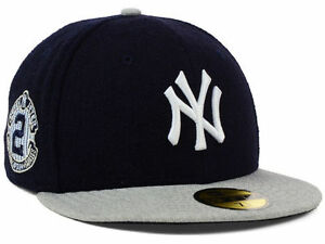 Official NY New York Yankees Derek Jeter Retirement New Era 59FIFTY ... 317cebae870