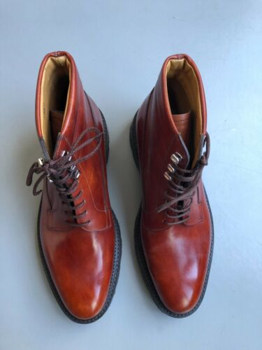 Rrp Uk7 00 Boots £ Taglia Chesnut Alder John 445 Lobb Nuovo Brown It40 1 qzRAx