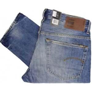 Détails sur G STAR 3301 TAPERED Higa, medium aged Jeans Stretch afficher le titre d'origine