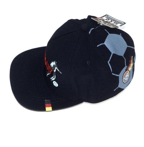 MaxiMo Cap Snapback Basecap Jungen Capi GERMANY Fußball UV 15 Navy Gr 51 53  NeU