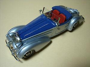 Horch 855 Roadster Erdmann Rossi 1938 1/43 Tin Wizard Non Chrome