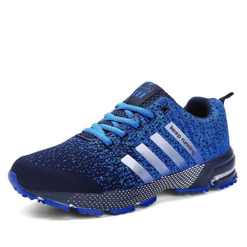 New Men's Running Sneakers Sports Athletic shoes Outdoor Breathable Casual Flats