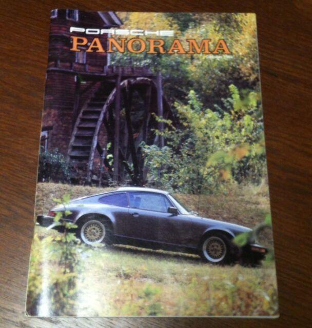 Panorama Porsche Car: Porsche Panorama Magazine October 1985