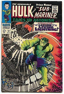 Tales To Astonish 97 Marvel 1967 FN