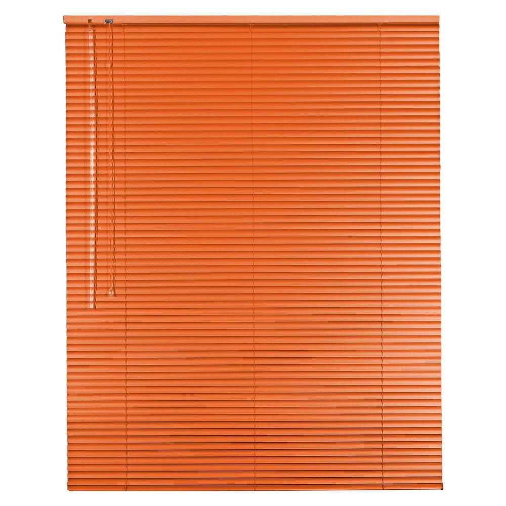 Aluminium Jalousie Alu Alu Alu Jalousette Jalusie Fenster Tür Rollo - Höhe 200 cm Orange  | Realistisch  c9897d