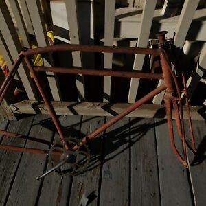 Antique Prewar Turn Of The Century Miami built Flying Merkel Bicycle