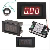 LCD AC 0-100A Digital Display LED Panel Voltmeter Ammeter/ Amp Ampere Meter New