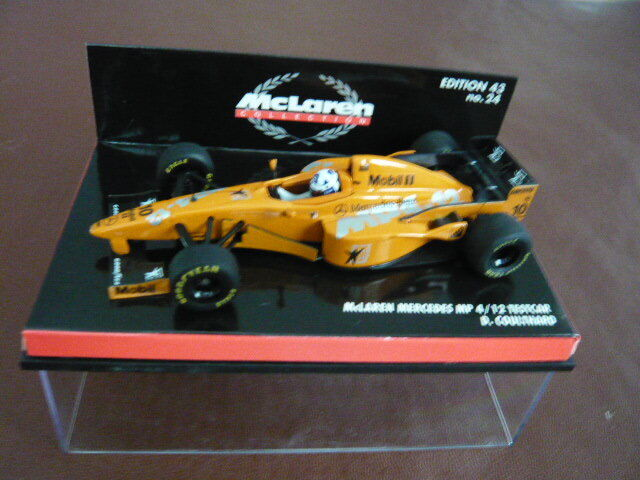 Minichamps 1 43 Mclaren Mercedes MP4 12 Test car, David Coulthard.