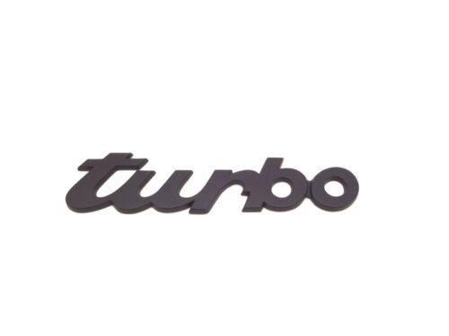 NUOVO Originale Porsche 930 Turbo 964 Turbo BLACK BADGE POSTERIORE 930 559 317 02 70C