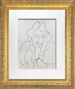 Henri-MATISSE-Original-LITHOGRAPH-034-Lydia-034-Limited-Ed-w-Archival-FRAMING