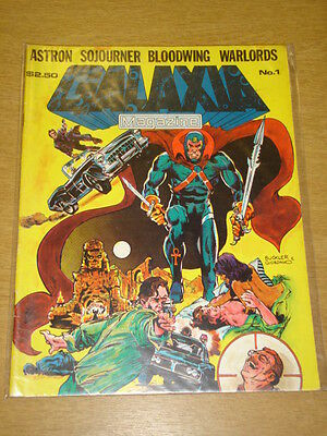 GALAXIA MAGAZINE #1 FN ASTRAL COMICS US MAGAZINE ASTRON SOJOURNER BLOODWING