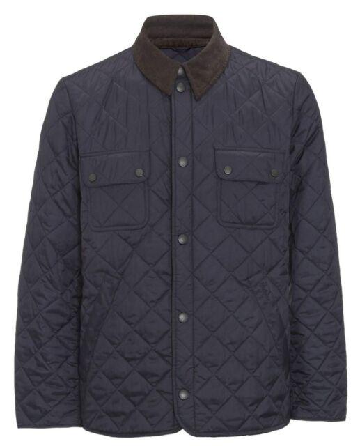 Barbour Men's Navy Tinford Quilted Lightweight Jacket
