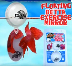 Zoo-Med-Labs-Betta-Floating-Exercise-Mirror-Betta-Fish-Toy-Aquarium-Ornament