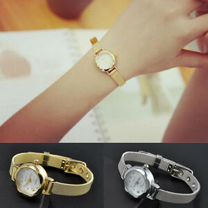Fashion-Women-Crystal-Dial-Thin-Band-Stainless-Steel-Quartz-Wrist-Bracelet-Watch