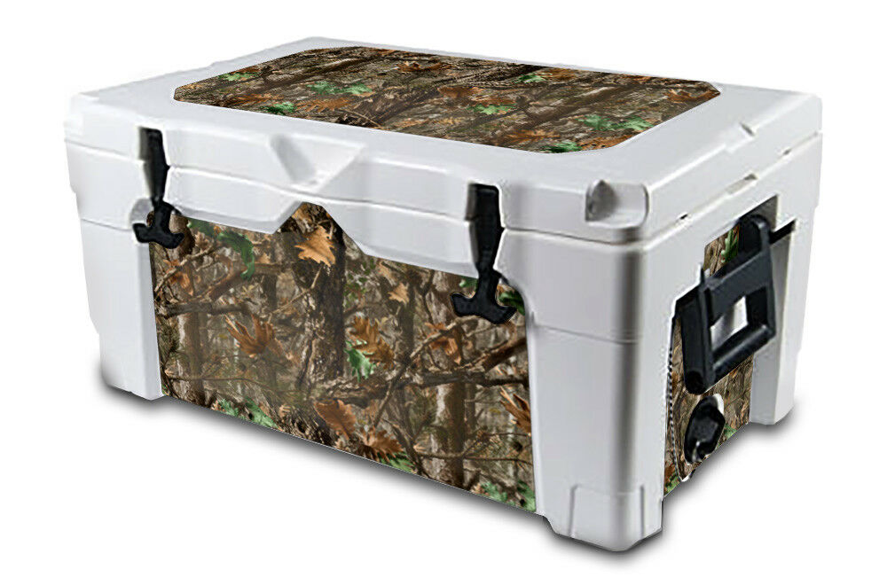 USATuff Decal Wrap L+I Kit fits IGLOO Sportsman 55qt Cooler WDland Camo