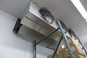 Russell-IFA36-490-DE-3-Fan-36000-BTU-Walk-In-Cooler-Med-Profile-Evaporator-Coil