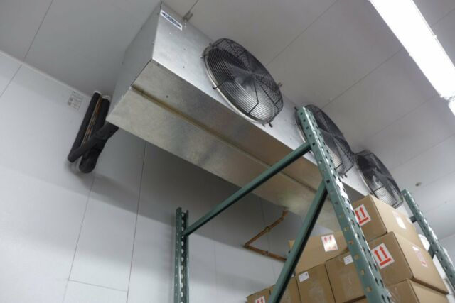 Russell IFA36-490-DE 3-Fan 36000 BTU Walk In Cooler Med Profile Evaporator Coil