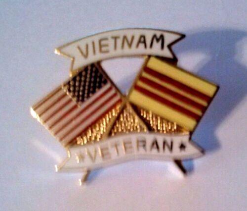 "Vietnam Veteran Hat Pin   1 1//8/"""