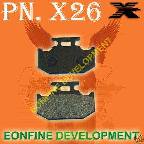 BRAKE PADS for YAMAHA WR200 XT225 TT-R TY WR 250 XG250