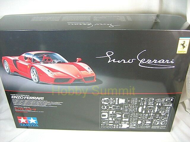 12047  Tamiya 1 12     ENZO FERRARI   w   P-E Parts   Super Plastic Model Kit     8230e5