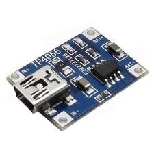 5 X MODULO TP4056 MINI USB 5V 1A RICARICA BATTERIE Litio Scheda Circuito Arduino