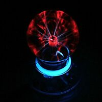 High-quality Glass Plasma Ball Sphere Lightning Light Lamp Party Magical Ball...
