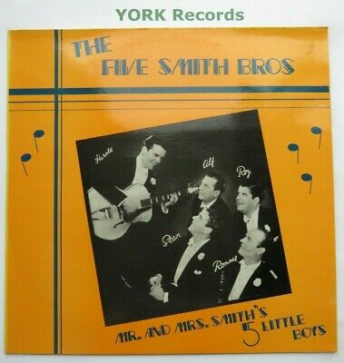 Five Smith Bothers Mr Amp Mrs Smith S 5 Little Boys Ex