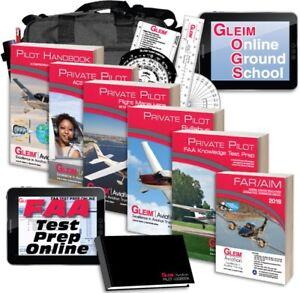 GLEIM-DELUXE-PRIVATE-PILOT-KIT-W-ONLINE-GROUND-SCHOOL