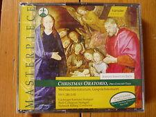 Bach Christmas Oratorio HELMUTH RILLING COLLEGIUM STUTTGART GÄCHINGER KANTOREI